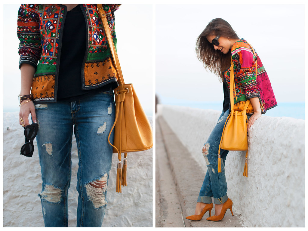 boho blogger