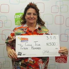 Cecilia Tyler - $1,500 Mega Millions