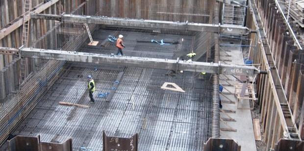 Struktur konstruksi rangka beton