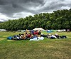 They have camped in the field of dreams. Time for hospitality days across Scotland. Only in #blairatholl2016