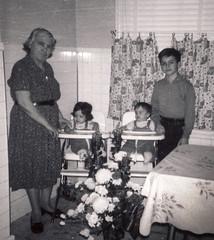 Caterina, Carol, Vilma , Bobby, 1964