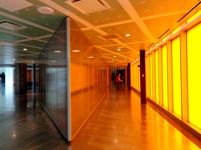 Mc Cormick Tribune Campus Center.  Rem Koolhaas