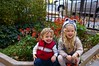 Kids in Front Garden
