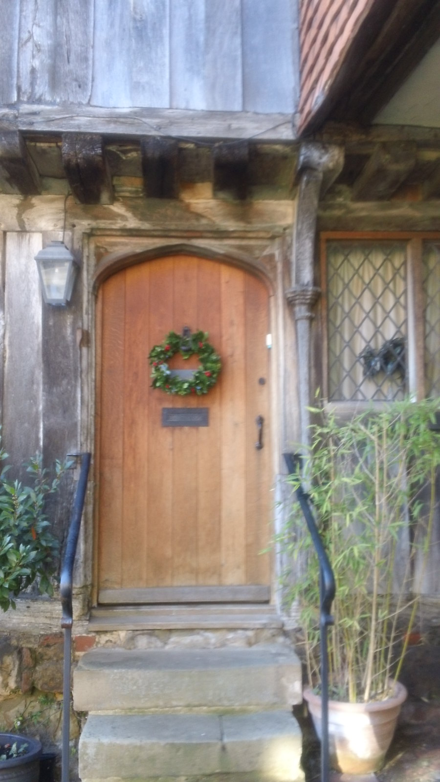 Christmas wreath Penshurst
