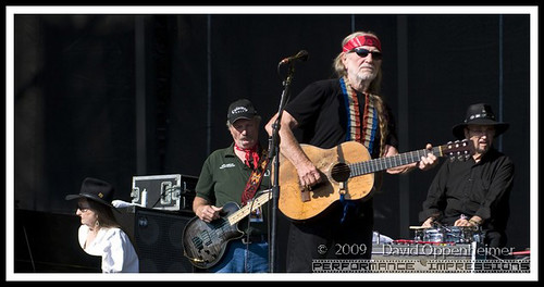 Willie Nelson Bobbie Nelson Dan Bee Spears and Paul English