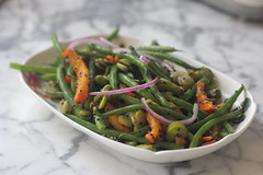 French + Fava Bean Salad