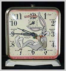 1949 BUGS BUNNY CLOCK