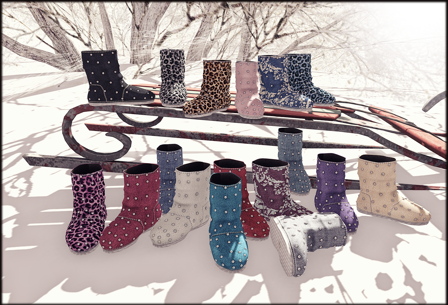 Peral Uggs by ChicCHica