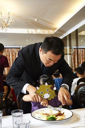 高雄新國際西餐廳 小朋友的西餐禮儀教學活動 (12)