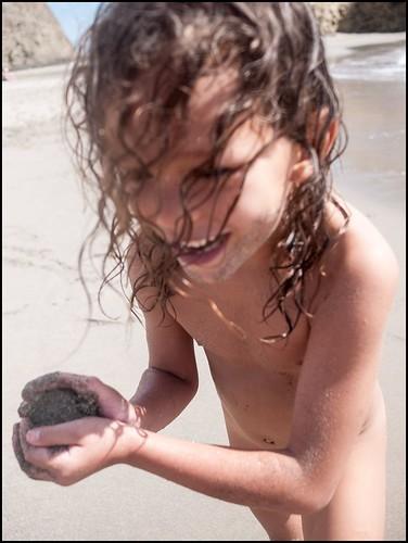 Joy of sand