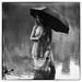 Black Umbrella by l'imagerie poétique
