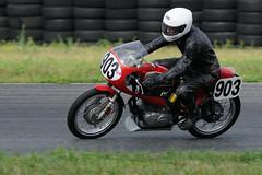 AHRMA historic motorcycle racing at NJMP July 2014