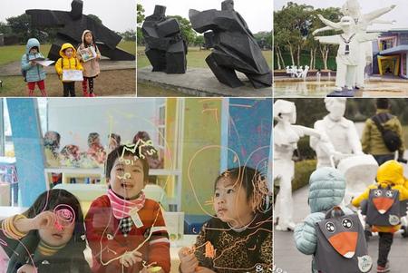 朱銘美術館▋國寶級的藝術殿堂,也是小朋友的快樂天堂