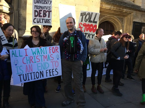 Bath demo for free education