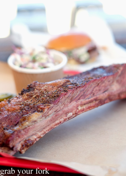 Beef short rib at Vic's Meat Market at Sydney Fish Market, Pyrmont