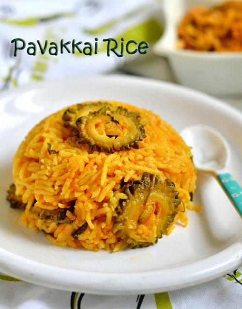 Pavakkai rice recipe