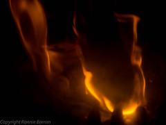 wood burning!