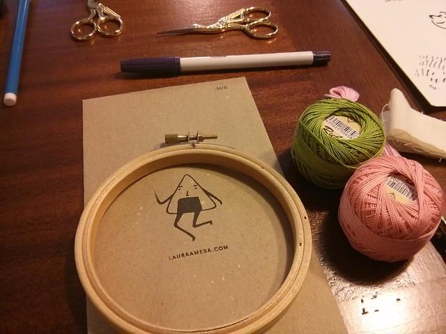 detalle taller aguja mágcia lauraameba.com en hombre cactus