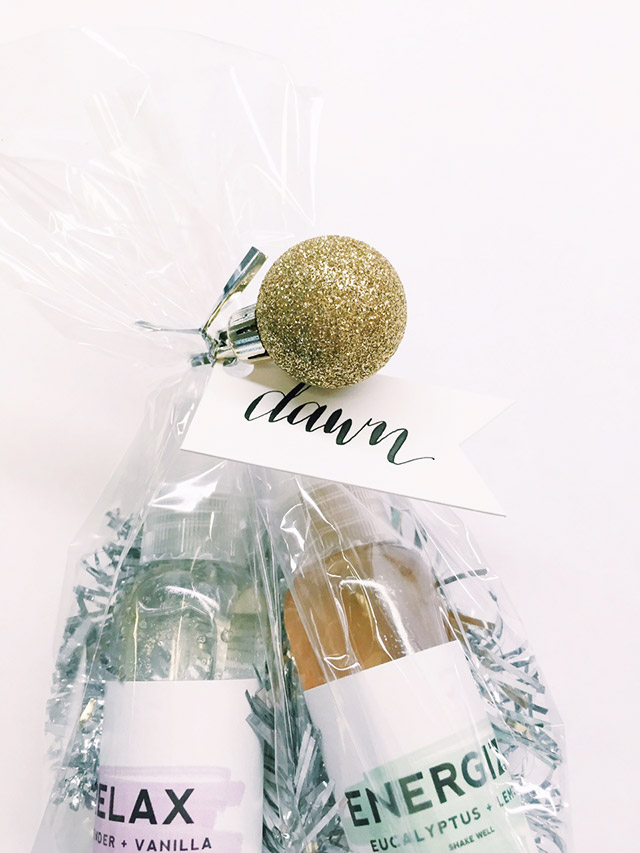 diy essential oils, diy cosmetics packaging, diy christmas gift 2014