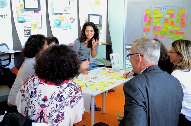 Salon de l'Entreprise - ateliers de créativité sur la pépinière idéale