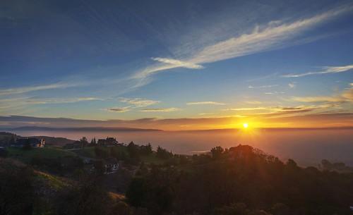 california sunset sky cloud raw day cloudy outdoor sanjose explore siliconvalley hdr mthamilton 3xp photomatix fav500 nex6 selp1650 mthamiltongrandview