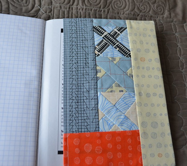 QuiltCon 2015 Notebook Cover from Debbie