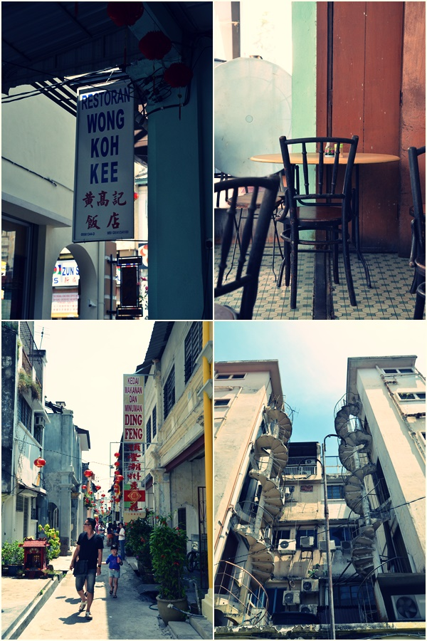 Wong Koh Kee and Concubine Lane