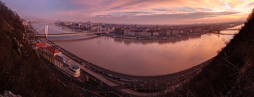 city morning panorama sunrise river landscape dawn early hungary budapest duna danube hdr város hajnal reggel napkelte folyó