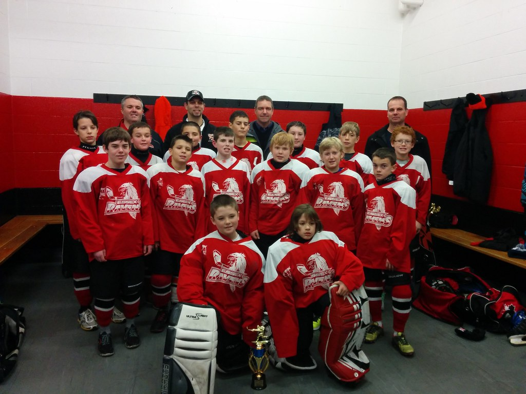 Essex peewee Red Ravens