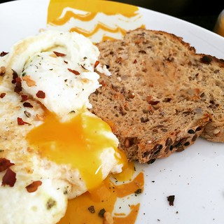 #yolkporn and toast