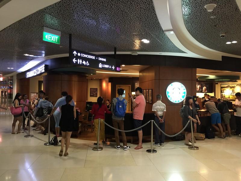 Starbucks alice + olivia Design Collection - Queue