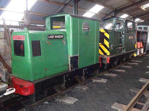 Emsat Sign In: Ruston Class 30DL Diesel Locomotive, RH 283512