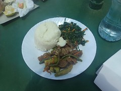 ugali for lunch!