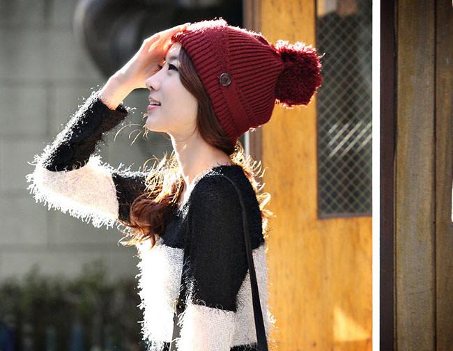 Cách đội mũ/nón len tuyệt đẹp hợp thời trang