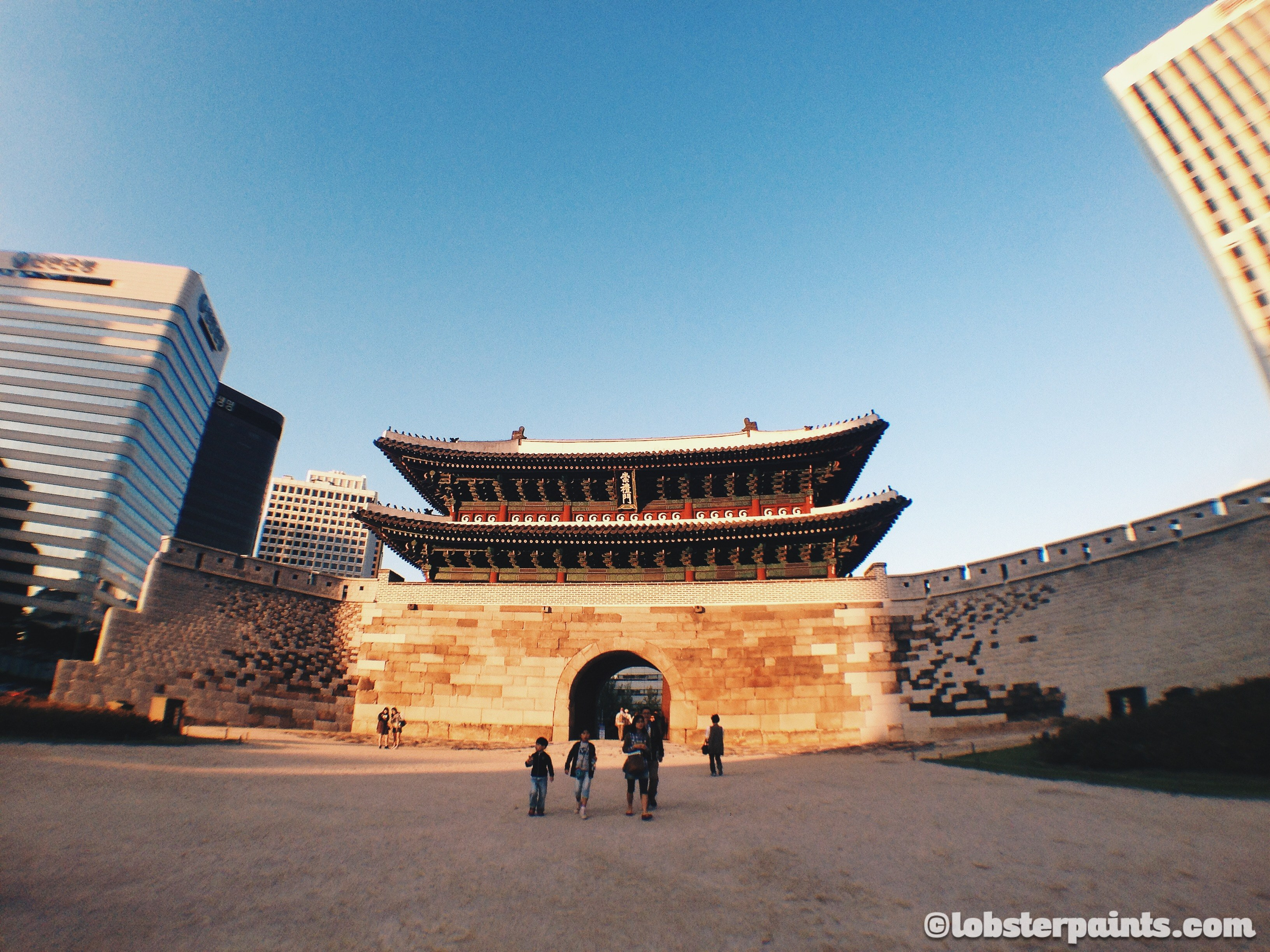 3 Oct 2014: Namdaemun 남대문 (Sungnyemun 숭례문) | Seoul, South Korea