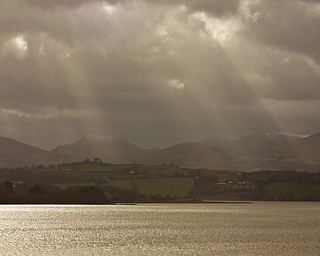 River Conwy delta North Wales