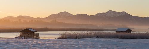 winter light panorama snow ice fog sunrise canon germany landscape bayern dawn chiemsee 6d rimsting canonef135mmf2lusm