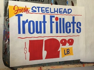 Classic Butcher Paper signs!