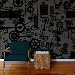 Kinetic Wallpaper Pattern