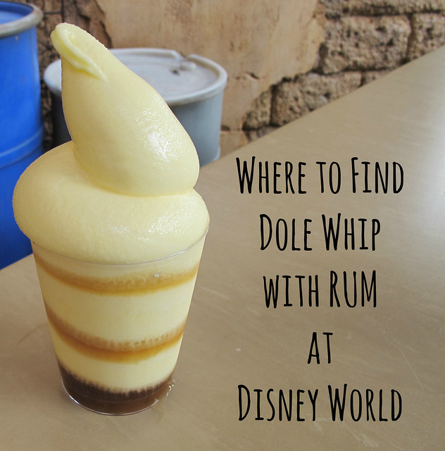 Dole Whip with Rum!
