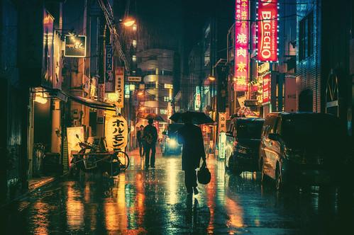 Rainy Night In Tokyo por Masashi Wakui