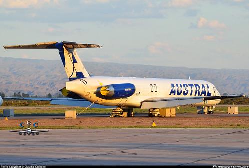 LV-BEG Austral Líneas Aéreas McDonnell-Douglas-MD-83