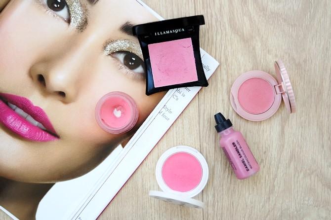 Cream blush, blusher, pink blusher, Illamsaqua, Daniel Sandler, Topshop, Dior