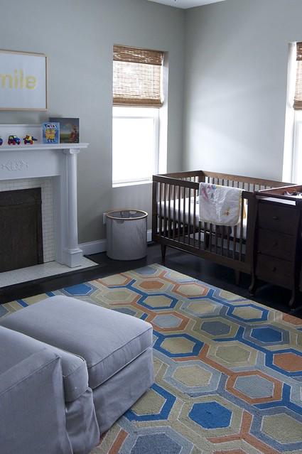 Nursery's New Wall Color