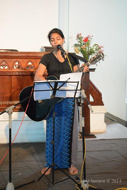 Sri Lanka. Colombo. Cinnamon Gardens Baptist Church.