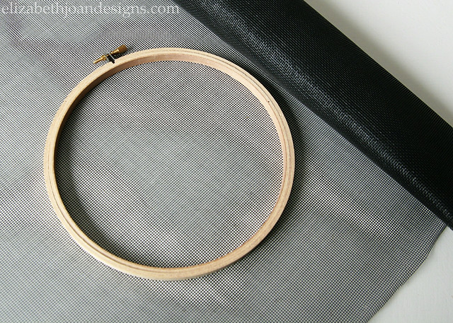 Embroidery Hoop Screen