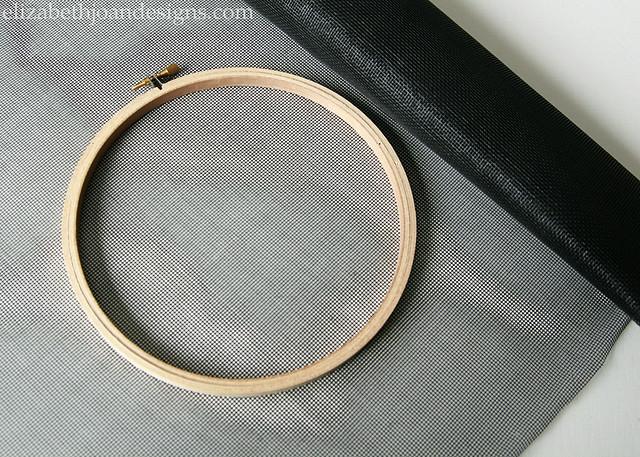 Embroidery Hoop Screen