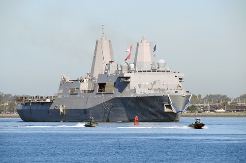 USS San Diego Returns Home to San Diego (click here for more photos)