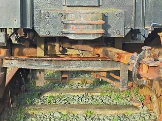 rusty railwagon