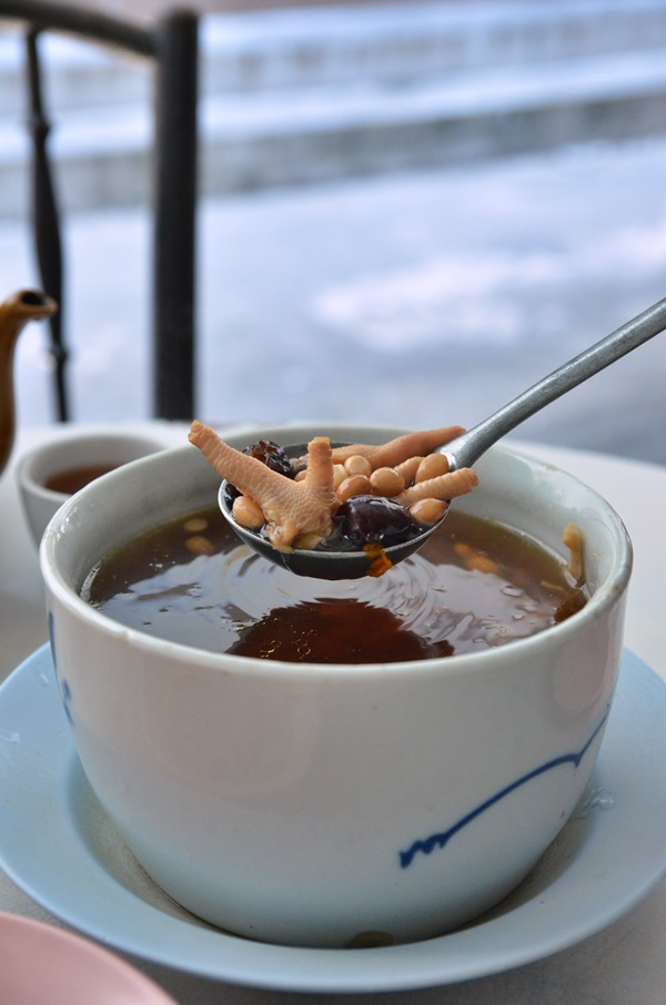 Chicken Feet and Peanut Soup